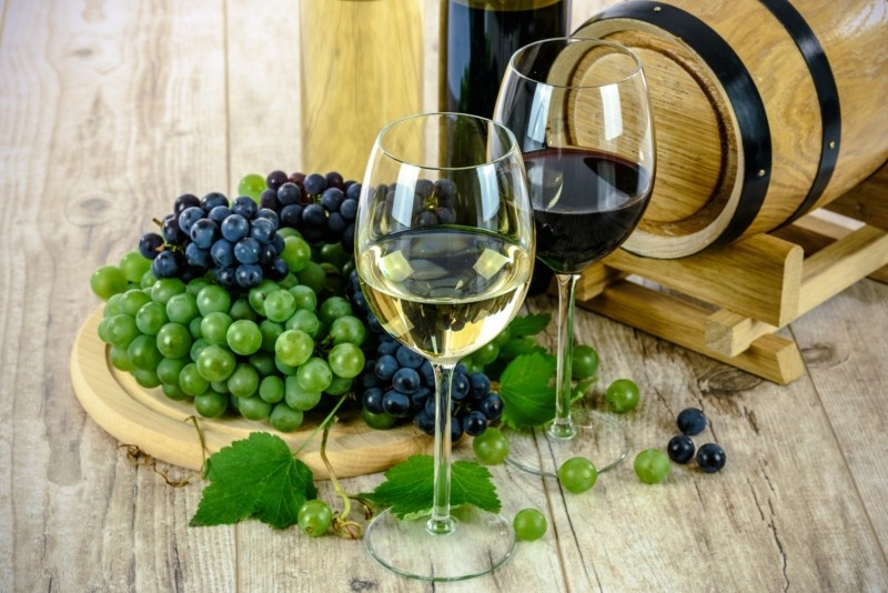 Uva y vino